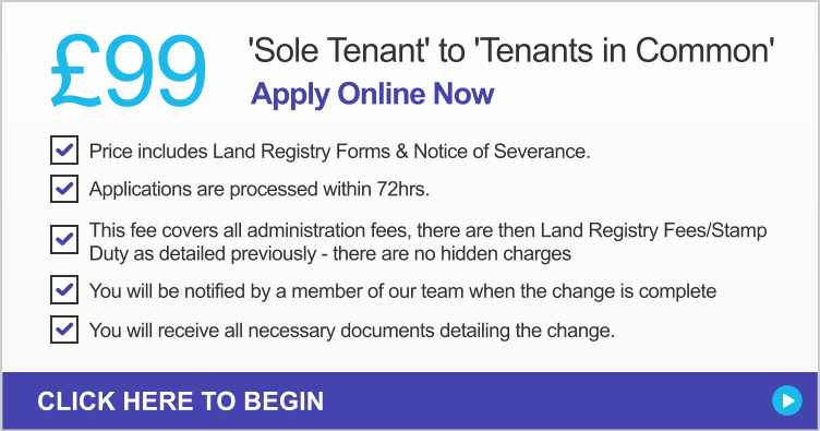 Sole Tenant To Tenants In Common
